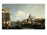 Venice  the Grand Canal: the Salute and Dogana from the Campo Sta Maria Zobenigo