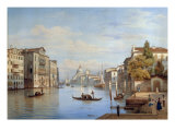 The Grand Canal  Venice  1847