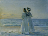 Two Women on the Beach at Skagen  1908