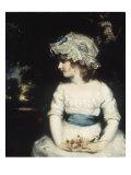 Simplicity - Portrait of Miss Theophilia Gwatkin  c1789