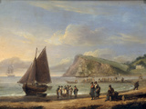 A View of Ness Point - Teignmouth  Devon  1826