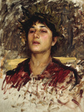 Head Study of a Corsican Boy
