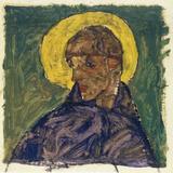 Kopf eines Heiligen (Head of a Saint)  c1913