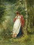 Young Girl in the Wood  1874