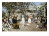 A Fiesta on a Sevillan Terrace  1891