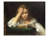 A Quiet Read  1863