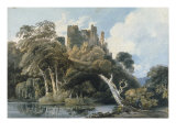Berry Pomeroy Castle  Devon  c1797