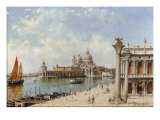 A View of the Piazzetta and Santa Maria della Salute  Venice