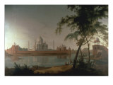 The Taj Mahal at Arga taken from across the River Jumna  c1798