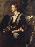 A Portrait of Mrs Archibald Milman  1877