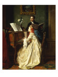 The Music Lesson  1858