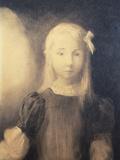 Portrait d'une Fillette Blonde: Jeanne Roberte  1905