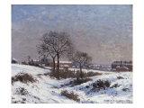 Paysage sous la Neige  Upper Norwood  1871