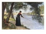 La Pecheuse  1884