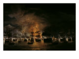 The Bombardment of Algiers  1819