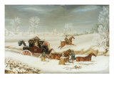 The Mailcoach in a Drift of Snow  1825