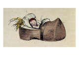 Tom Thumb- Illustration to &#39;Le petit Poucet&#39;