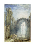Melrose Abbey: an Illustration to Sir Walter Scott&#39;s &#39;The Lay of the Last Minstrel&#39;