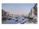 An Extensive View of the Grand Canal  Venice