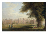A View of Hampton Court Palace  1827 (One of a Pair)