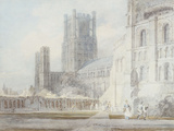 Ely Cathedral from the South-East  1794