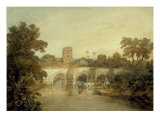 Bromfield on the River Onny  near Ludlow  Shropshire  1798