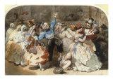 Le Chahut au Bal de l'Opera  1851
