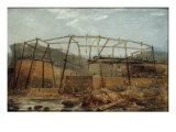 Construction of Seaham Harbour  1831