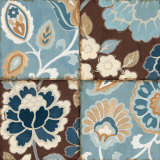 Patchwork Motif Blue I