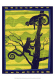 Woodblock Monkeys