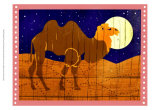 Woodblock Camel