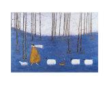 Tiptoe Through the Bluebells Reproduction d'art par Sam Toft