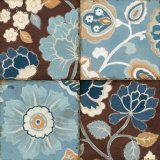 Patchwork Motif Blue II