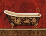 Royal Red Bath II