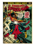 Marvel Comics Retro: The Amazing Spider-Man Comic Book Cover 123  Luke Cage - Hero for Hire (aged)