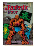 Marvel Comics Retro: Fantastic Four Family Comic Book Cover No51 (aged)