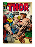 Marvel Comics Retro: The Mighty Thor Comic Book Cover 126  Hercules (aged)