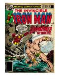 Marvel Comics Retro: The Invincible Iron Man Comic Book Cover No120; The Sub-Mariner Strikes