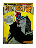 Marvel Comics Retro: The Amazing Spider-Man Comic Panel  the Vulture's Prey (aged)
