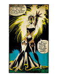 Marvel Comics Retro: X-Men Comic Panel  Storm (aged)