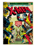 Marvel Comics Retro: The X-Men Comic Book Cover 100  Professor X (aged)