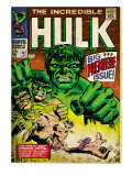 Marvel Comics Retro: The Incredible Hulk Comic Book Cover No102  Big Premiere Issue (aged)