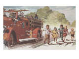 Running With The Firetruck