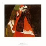 Cardinal and Nun  c1912