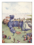 Illustration From Gulliver&#39;s Travels Of Lilliputians Attacking