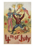 4th Of July Postcard