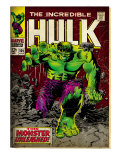 Marvel Comics Retro: The Incredible Hulk Comic Book Cover 105 (aged)