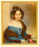 Portrait: Girl in Blue