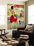 Marvel Comics Retro: Love Comic Panel  Spinster (aged)