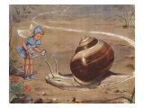 Silky And The Snail